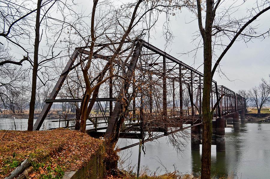 Bridge Photograph - Bridge At Winter by Brenda Becker