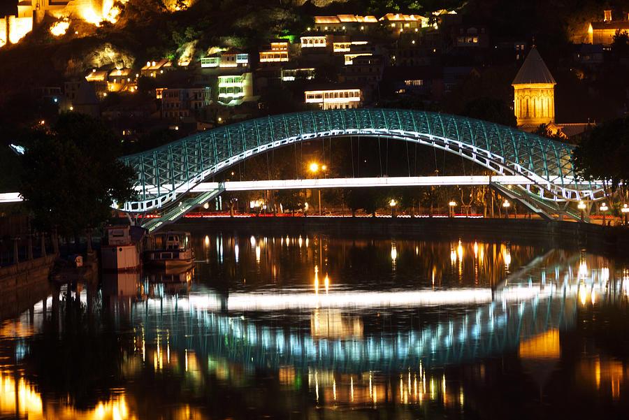 Tbilisi Photograph - Bridge by Ivan Slosar