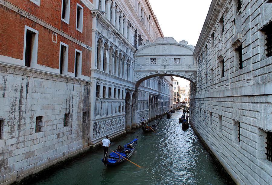 Venice Photograph - Bridge Of Sighs. by Terence Davis