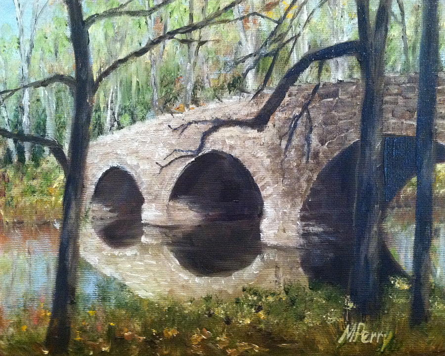 Bridge over the Perkiomen by Margie Perry
