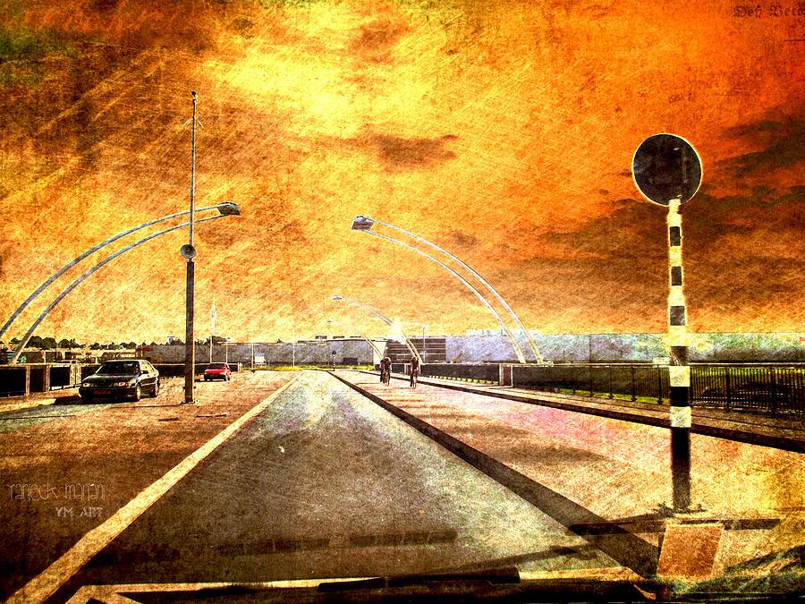 Bridge Photograph - Bridge Over Troubled Water  by Yvon van der Wijk