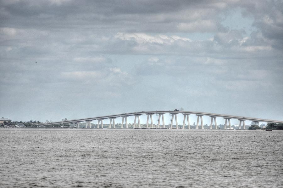 Great Blue Heron Digital Art - Bridge Passage by Barry R Jones Jr