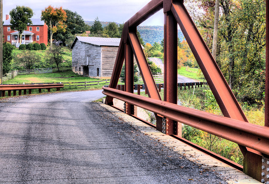 Bridge To A Simpler Time Photograph by JC Findley