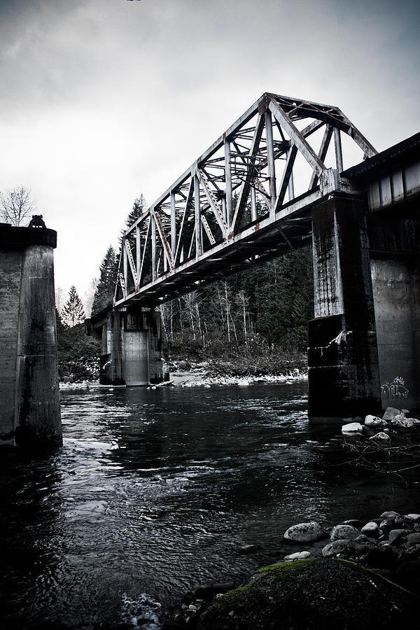 Bridge Photograph - Bridge To Nowhere by Warren Marshall