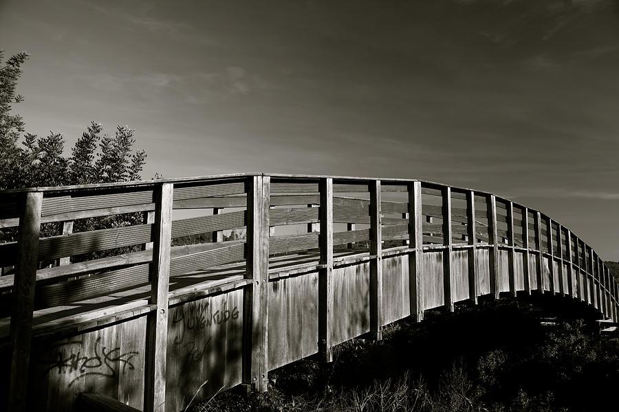 Photographer Photograph - Bridge To The Falls by Jez C Self