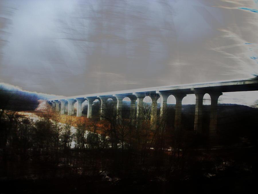 Bridge Photograph - Bridge To The Past by Rosvin Des Bouillons