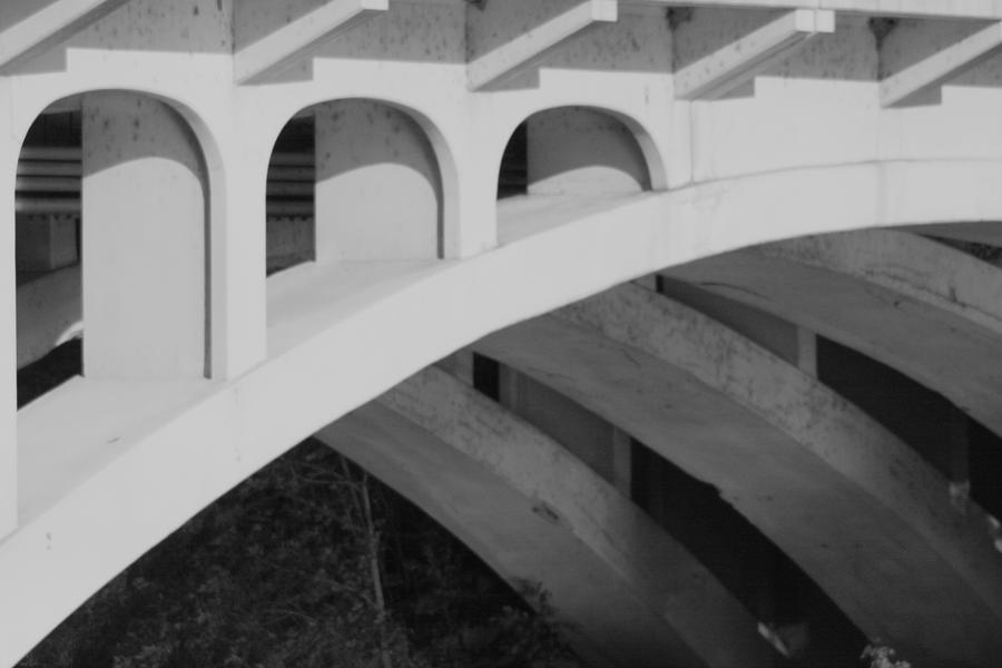 Bridge Photograph - Bridged Trifecta by Artist Orange
