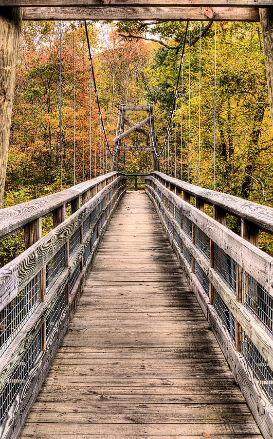 Mountain Photograph - Bridging The Seasons by JC Findley