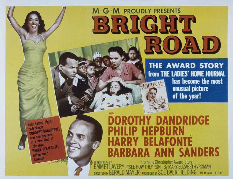 1953 Movies Photograph - Bright Road, Dorothy Dandridge, Harry by Everett