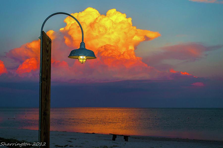 Sunset Photograph - Brilliant by Shannon Harrington