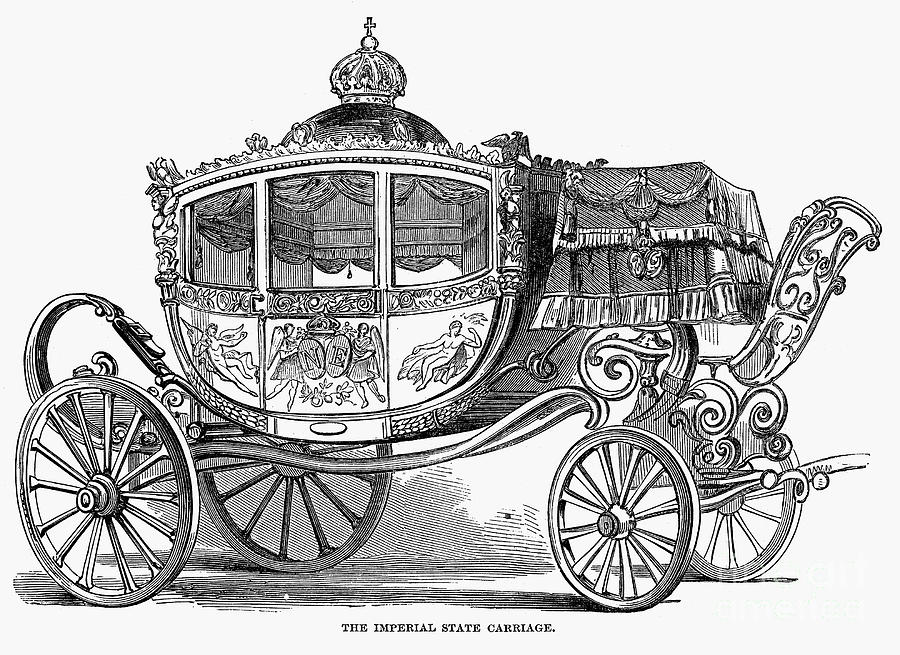 Britain: Royal Carriage Photograph by Granger