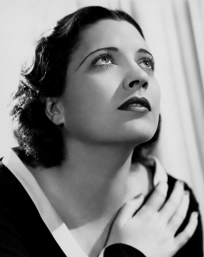 1930s Movies Photograph - British Agent, Kay Francis, 1934 by Everett