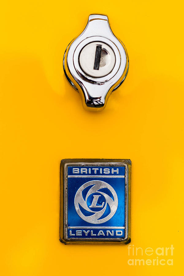 British Leyland Photograph - British Leyland by Jerry Fornarotto