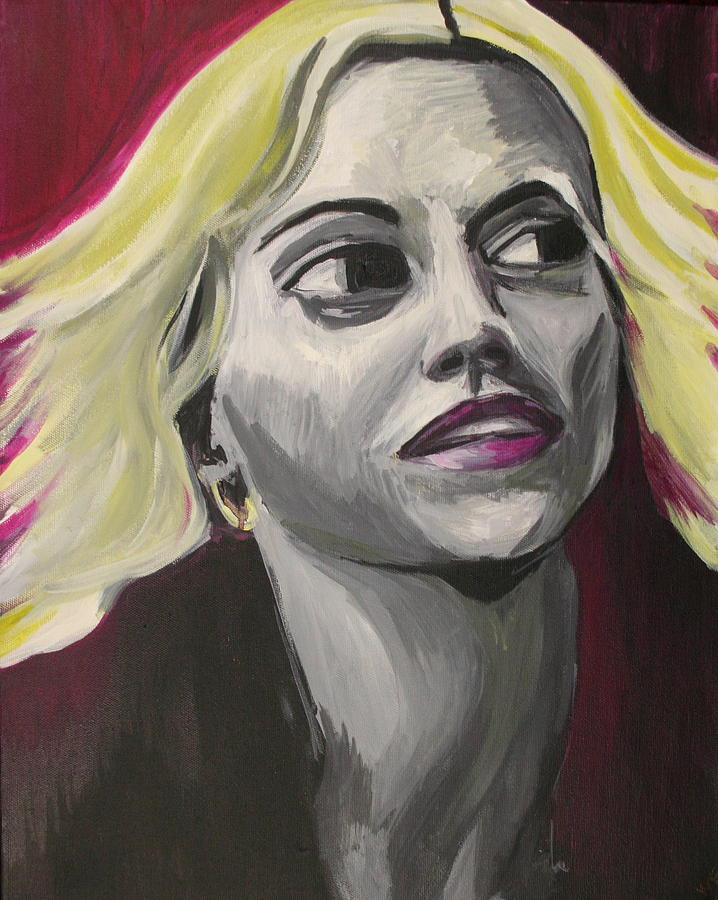 Brittany Murphy Painting by Kate Fortin