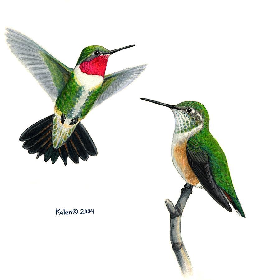 White Bird Painting