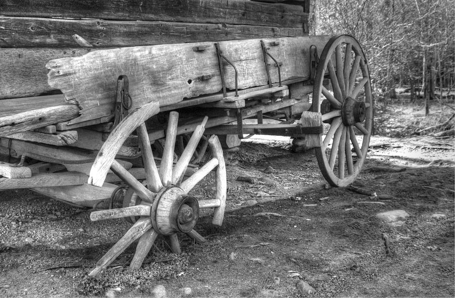Cades Cove Photograph - Broken Past by Greg and Chrystal Mimbs