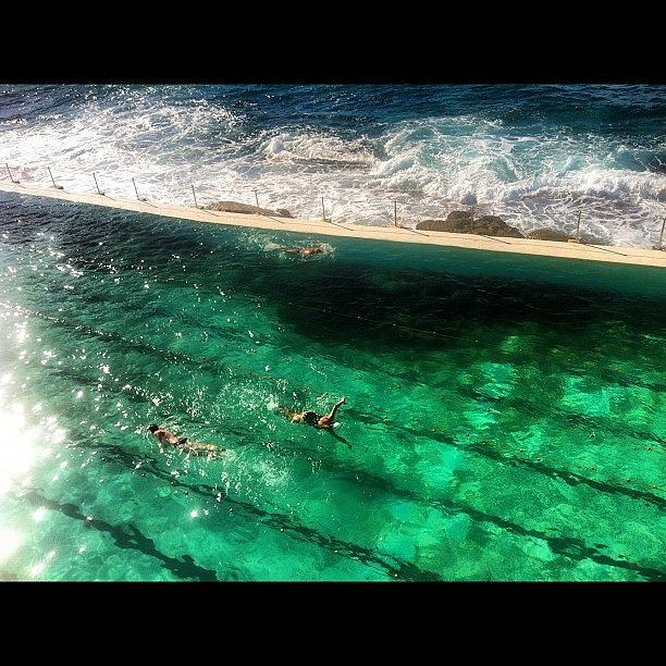 Sydney Photograph - Bronte Beachs  Swimming Pool by Alvaro Garcia