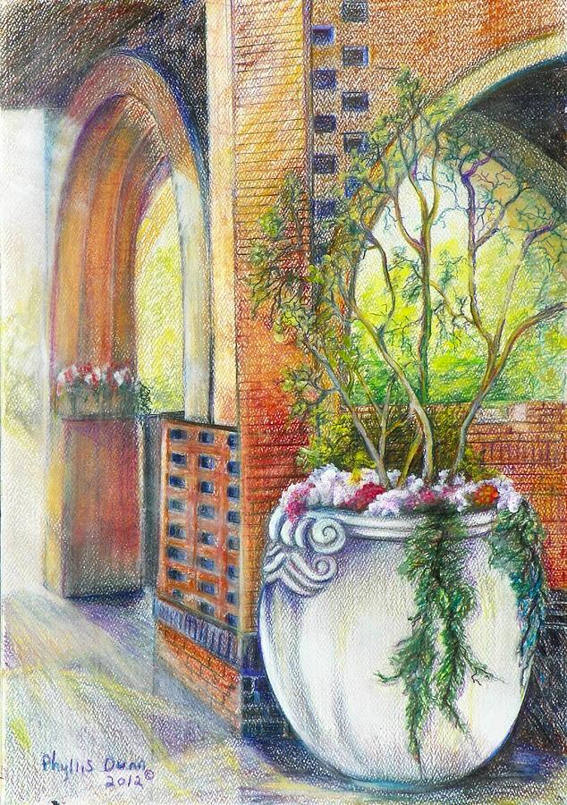 Brookgreen Garden Scene by Phyllis Dunn