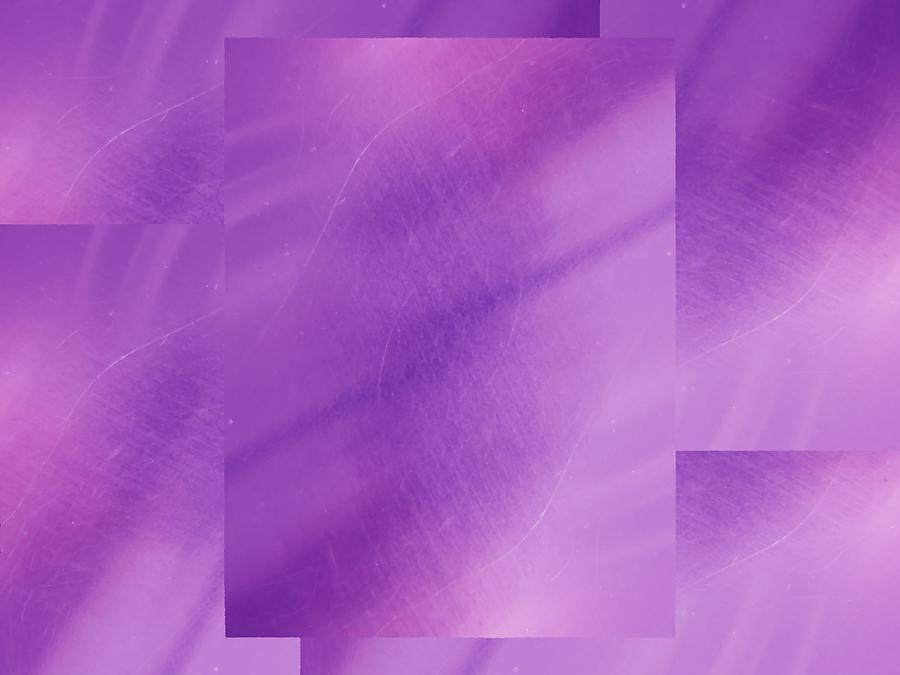 Abstract Digital Art - Brushed Purple Violet 1 by Tim Allen