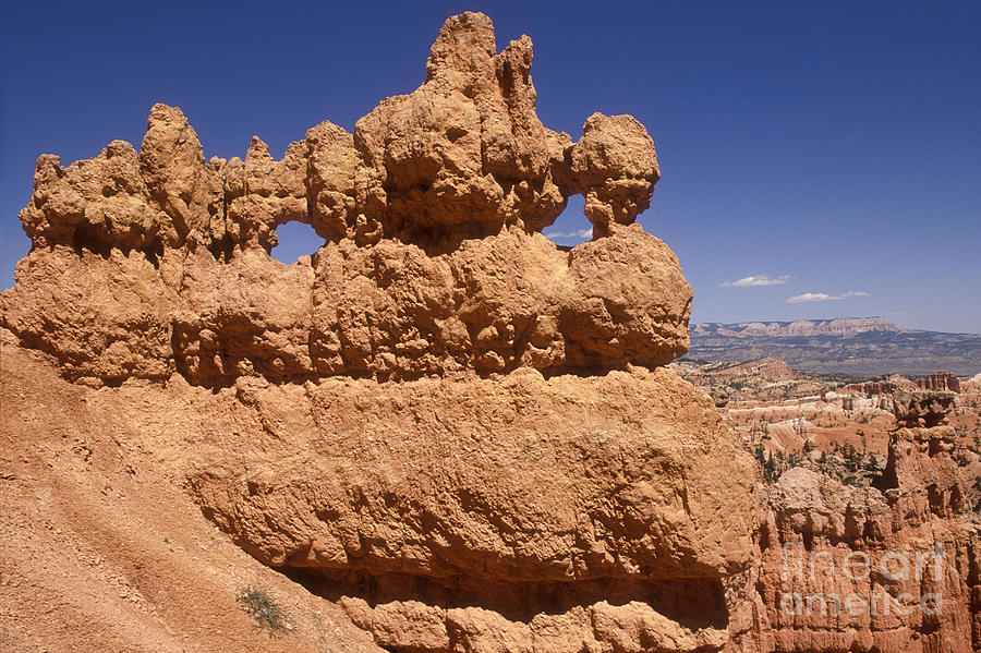 Bryce Canyon Photograph - Bryce Canyon - Mask Formation by Sandra Bronstein
