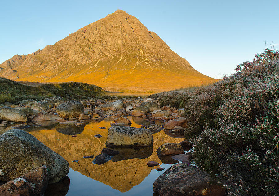 Buachaille Etive Mor Photograph - Buachaille Etive Mor At Sunrise by Ben Spencer