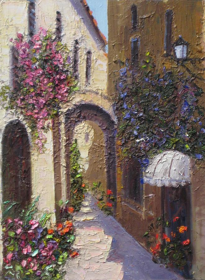 European Painting - Bubble Awning by Mehran Rashidfarokhy