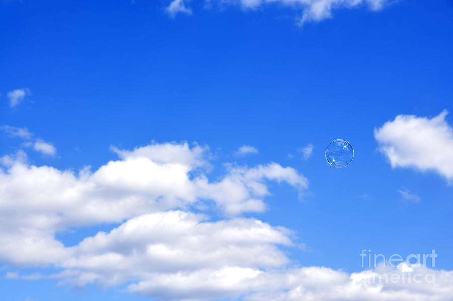 Bubble In Air Photograph