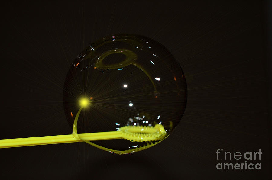 Bubble Photograph - Bubble by Paulina Roybal