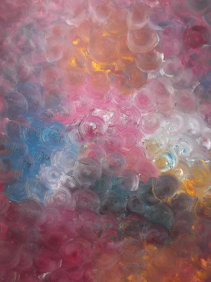 Bubblewrap Painting - Bubblewrap by Sharon Tuff