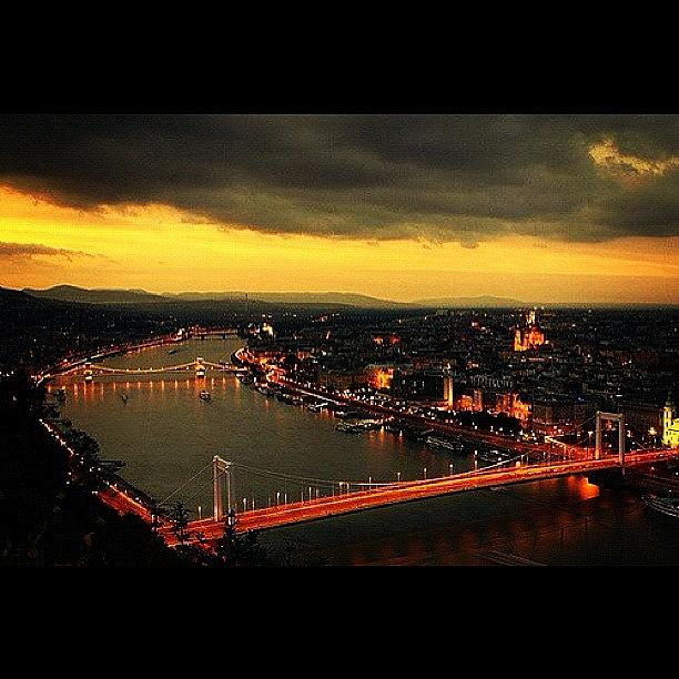 Urban Photograph - Budapest Panorama by Zin Zin