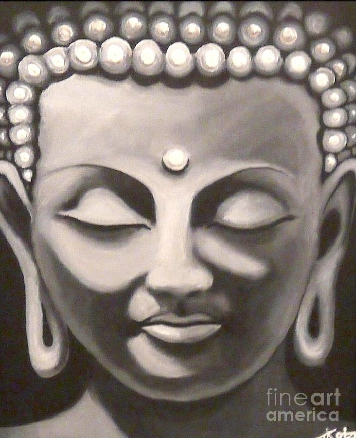 Buddha Wall Art Canvas