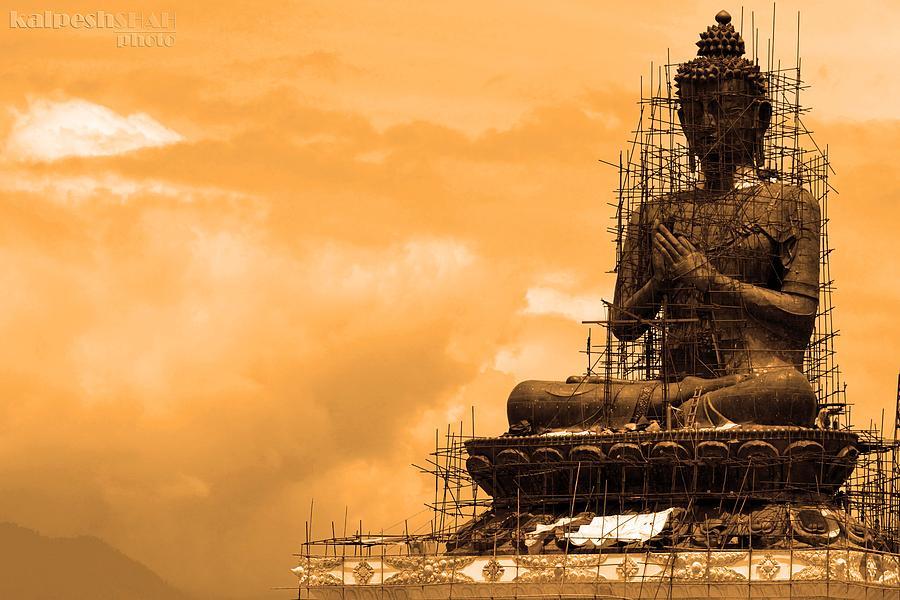 Buddha Photograph - Buddha by Kalpesh Shah