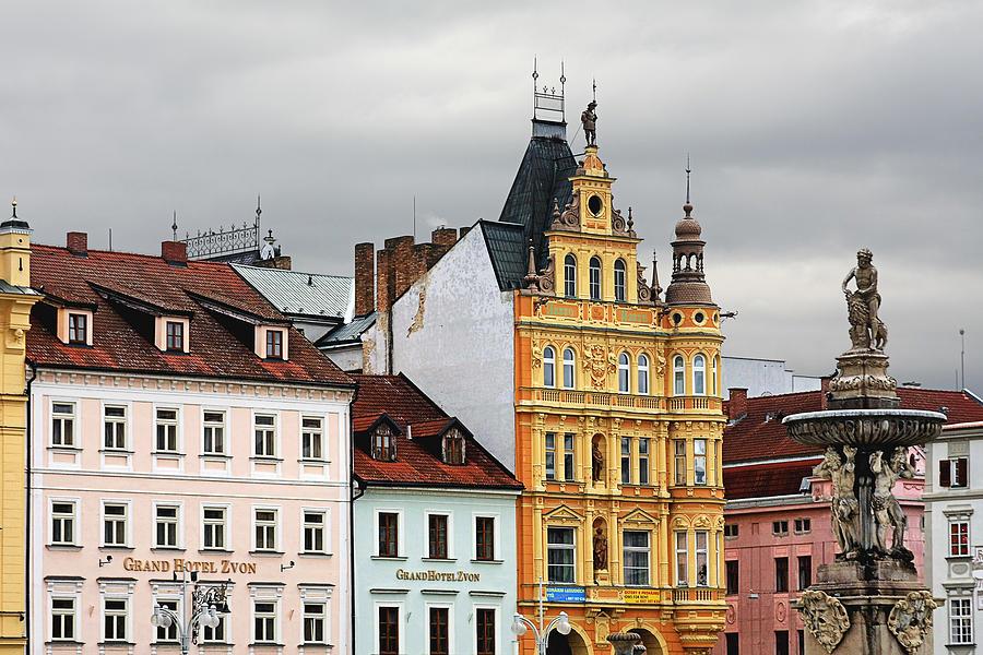 Czech Photograph - Budweis - Pearl Of Bohemia - Czech Republic by Christine Till