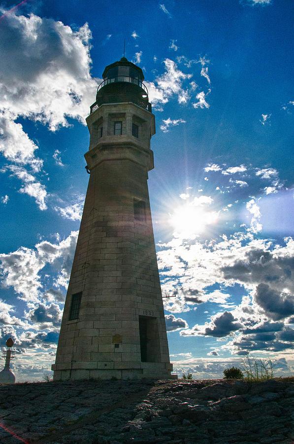 Buffalo Photograph - Buffalo Lighthouse 15717c by Guy Whiteley