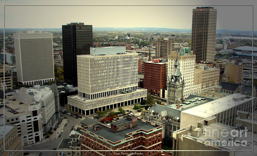 Buffalo New York Aerial View Photograph By Rose Santuci Sofranko