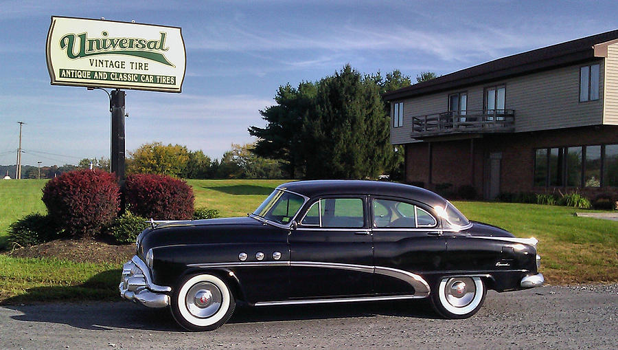 Car Photograph - Buick Eight 1952 by Elizabeth Coats