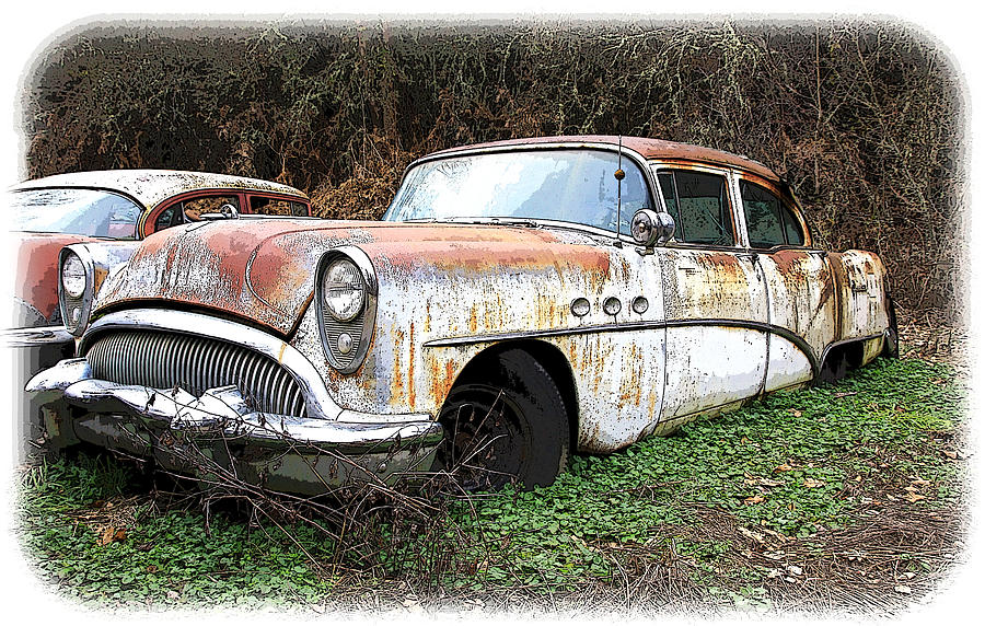 Buick Photograph - Buick Yard by Steve McKinzie