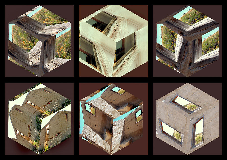 Architectural Photograph - Building Blocks by Irma BACKELANT GALLERIES