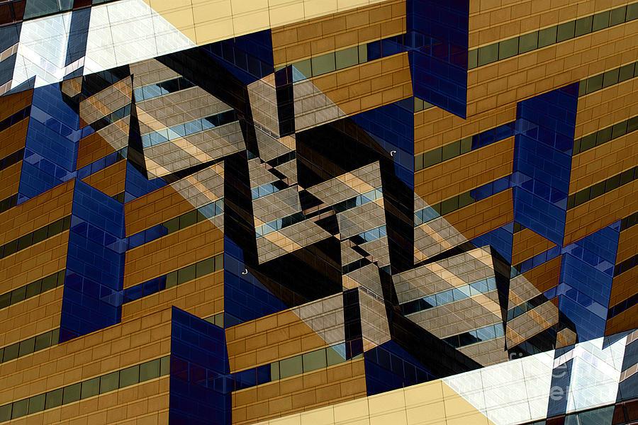 Building Digital Art - Building Deconnexion by R Kyllo