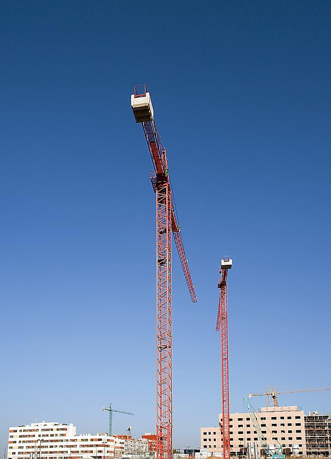 Building Photograph - Building Site, Spain by Carlos Dominguez