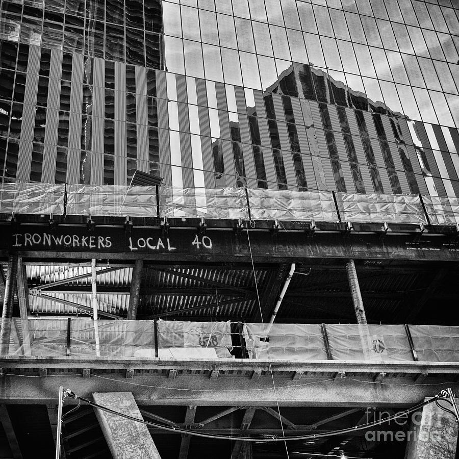 New York Photograph - Building The American Dream by John Farnan