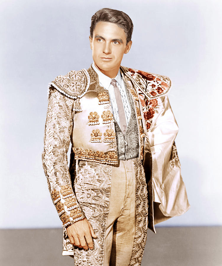1951 Movies Photograph - Bullfighter And The Lady, Robert Stack by Everett