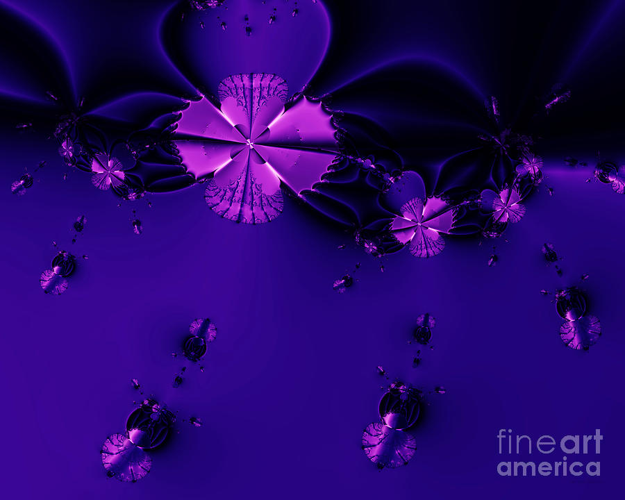 Fractal Digital Art - Bumble Beez . S19 by Wingsdomain Art and Photography