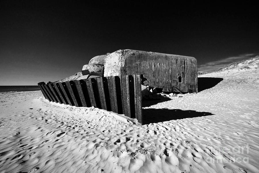 Bunker Photograph - Bunker by Holger Ostwald