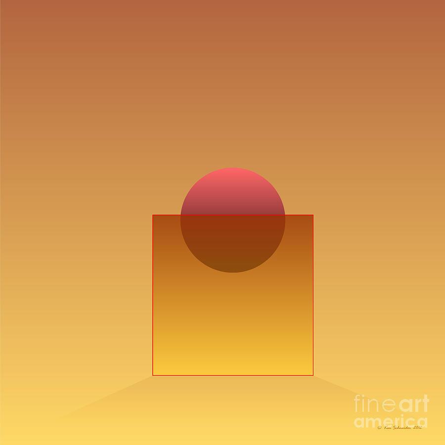 Square Digital Art - Buoyancy  by Ken Schneider