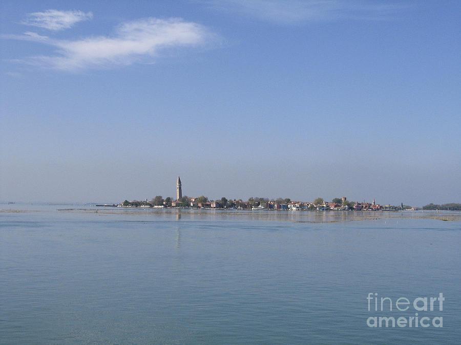 Ile Photograph - Burano. Lagoon by Bernard Jaubert