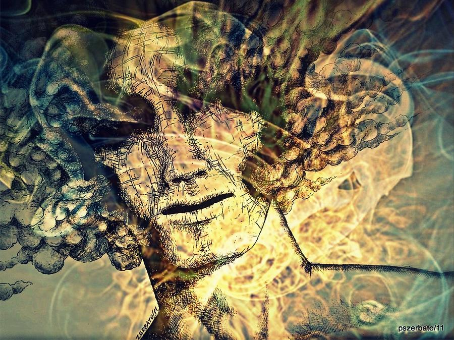 Burnout Digital Art - Burnout Syndrome Of The Resign Yourself by Paulo Zerbato