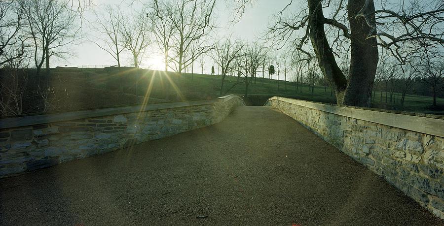 Antietam Photograph - Burnsides Bridge From East by Jan W Faul