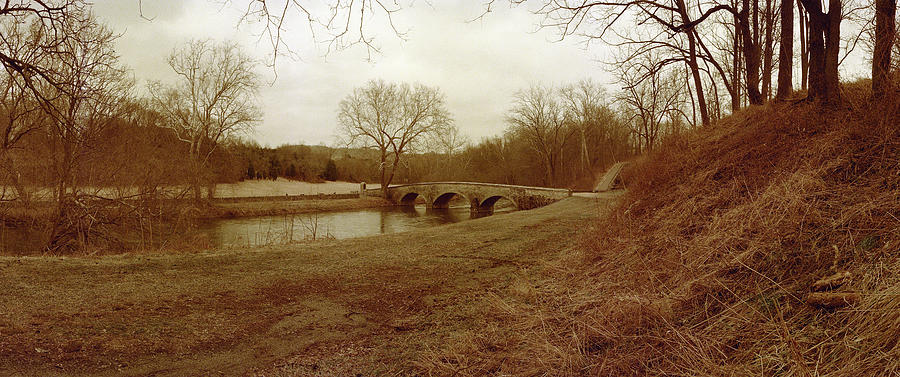 Civil War Photograph - Burnsides Bridge by Jan W Faul