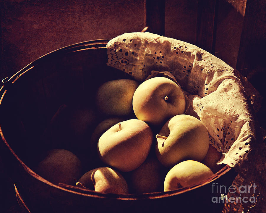 Bushel of Apples by Pam  Holdsworth